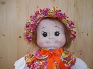PDF Step by Step Photo Tutorial Bambola di stoffa scolpita ad ago Soft Sculptured Textile Doll