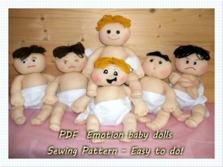 Cloth Baby Doll sewing pattern