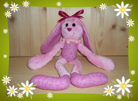Coniglietto Di Stoffa Fatto A Mano Tutorial Dollmaking