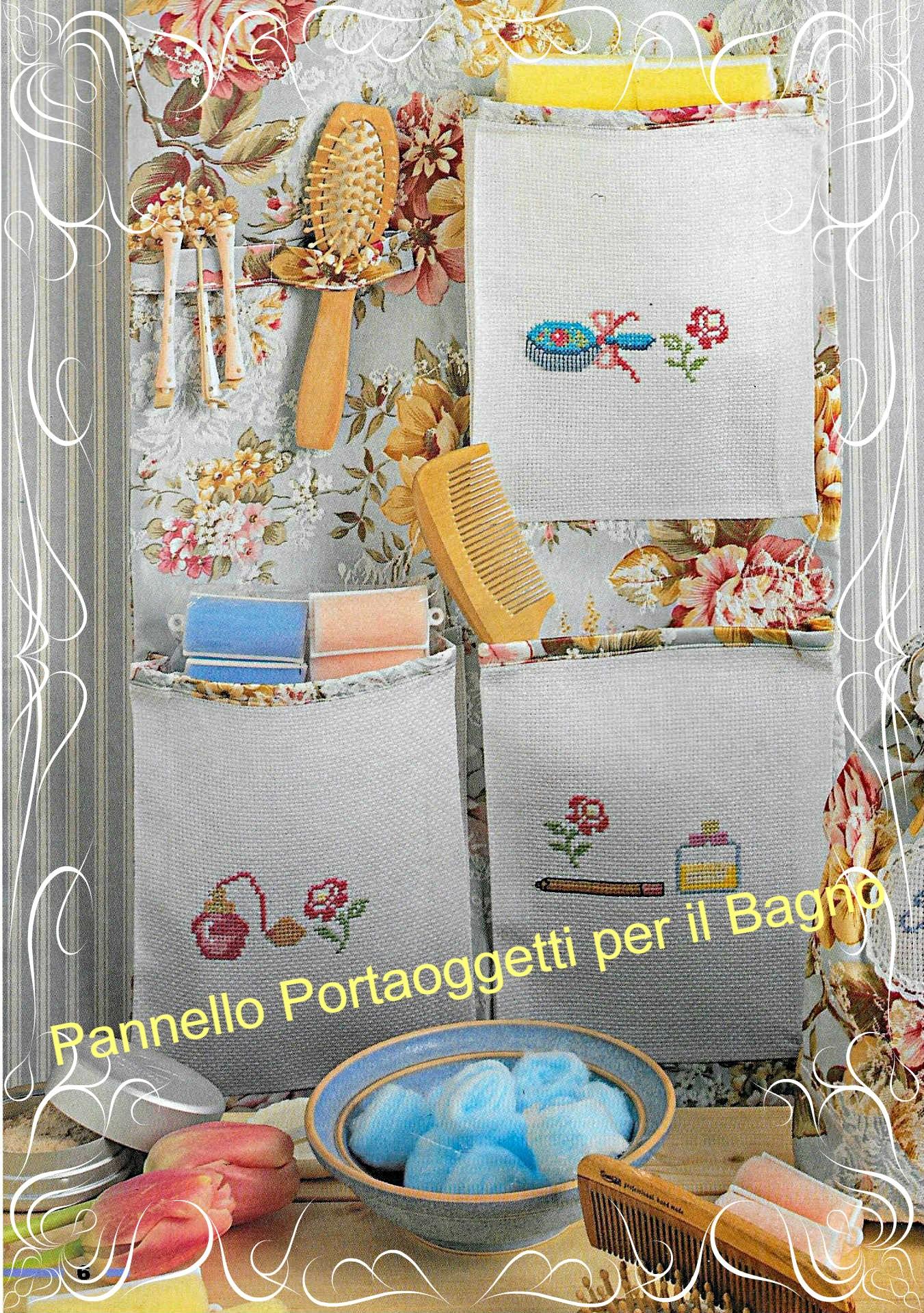 Portaoggetti Da Parete Per Cucina tutorial pannello porta oggetti per il bagno