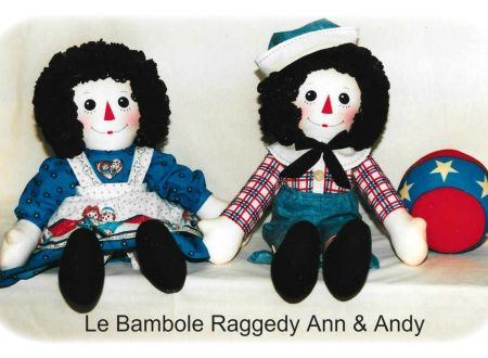 Bambole Raggedy Ann e Andy