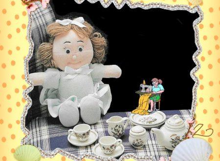 Tutorial e cartamodello piccola bambola