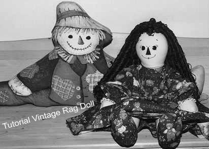 Tutorial Vintage Rag Doll