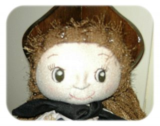 Tutorial e schema di taglio bambola di stoffa