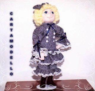 Cartamodello abito bambola