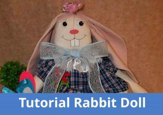 Tutorial e schema bambola coniglio