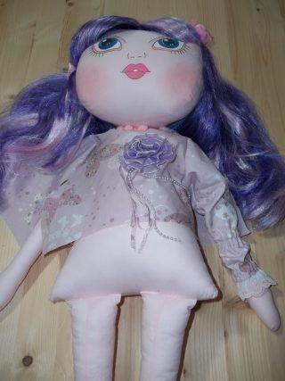 Tutorial e cartamodello bambola di stoffa