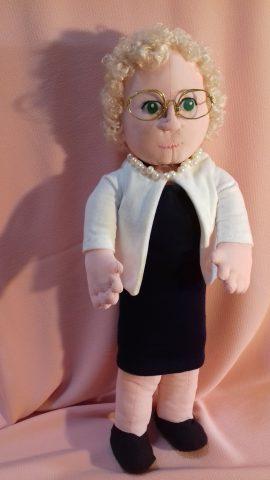 Tessuto per bambole