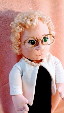 Bambole di stoffa scolpite ad ago - Bambole ritratto