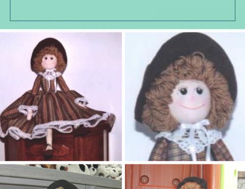 Tutorial bambola di stoffa articolata