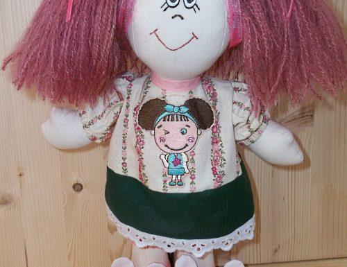 Tutorial e cartamodello bambola di pezza